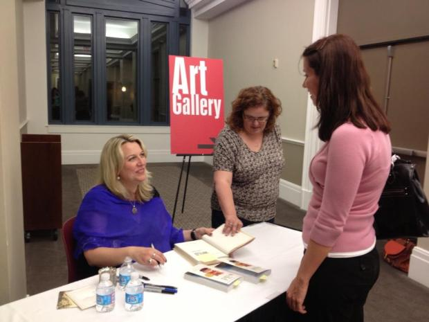 One of the highlights of 2013, meeting Cheryl Strayed