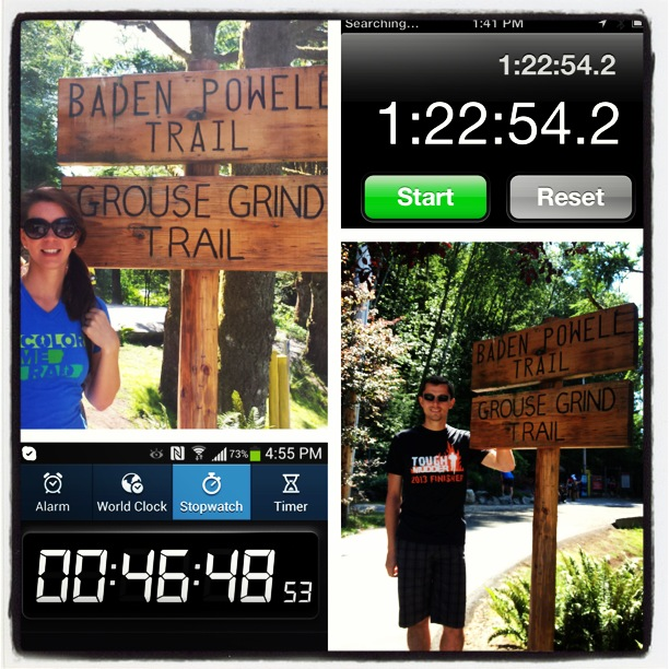 The Grouse Grind is no joke!